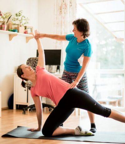 Individuální cvičení s Pavlou Plíhalovou